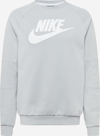 Nike Sportswear Sweatshirt in hellgrau / weiß, Produktansicht