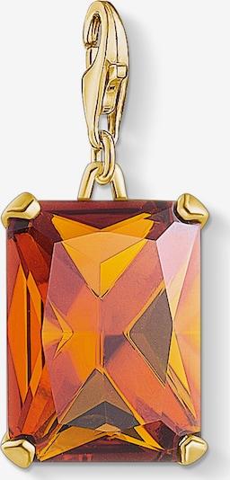 Thomas Sabo Charm-Einhänger in gold / orange, Produktansicht