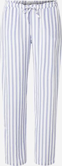 ETAM Pantalon de pyjama 'LENITA' en bleu / blanc, Vue avec produit