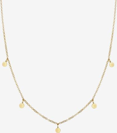 ELLI PREMIUM Halskette Geo, Kreis in gold, Produktansicht