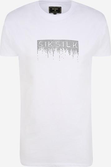 SikSilk Тениска в черно / бяло, Преглед на продукта