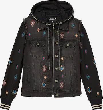 Desigual Between-Season Jacket 'LIVERPOO' in Black