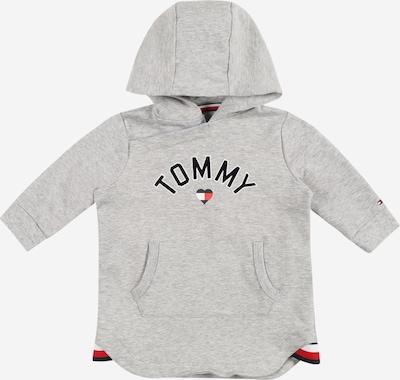 TOMMY HILFIGER Kleid in navy / grau / rot / schwarz / weiß, Produktansicht