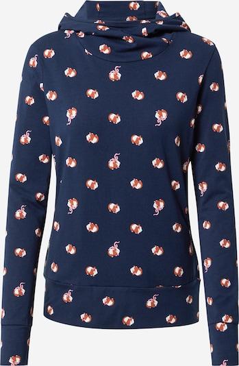 Blutsgeschwister Sweatshirt 'Hummel Hummel' in nachtblau / rostbraun / weiß, Produktansicht