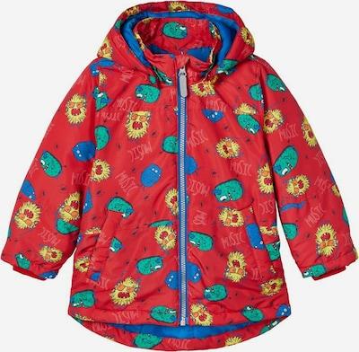 NAME IT Winterjas in de kleur Gemengde kleuren / Rood, Productweergave