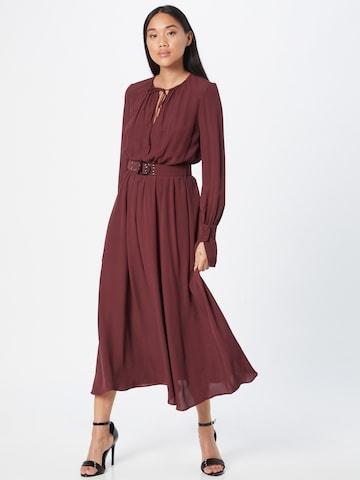 Rochie tip bluză de la PATRIZIA PEPE pe roșu