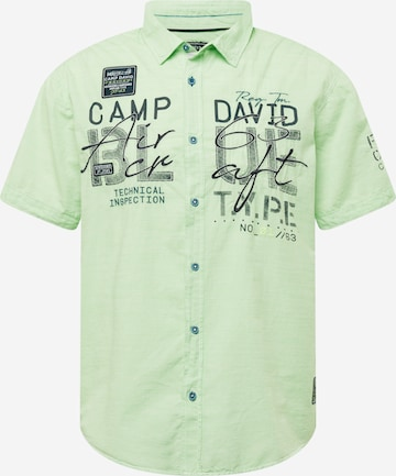CAMP DAVID Hemd in Grün