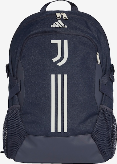 ADIDAS PERFORMANCE Sac à dos de sport 'Juventus Turin' en bleu foncé / blanc, Vue avec produit