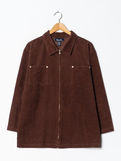 Denim Co. Cord-Jacke in M-L in rostrot, Produktansicht