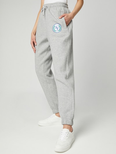 ABOUT YOU Limited Sweatpants 'Lenni' in graumeliert, Modelansicht