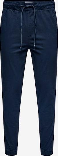 Pantaloni eleganți Only & Sons pe bleumarin / albastru închis, Vizualizare produs