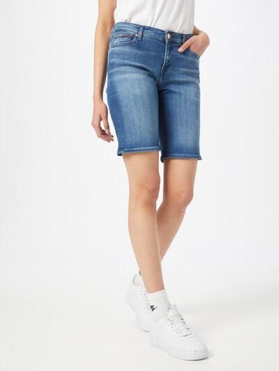 Jeans Tommy Jeans pe denim albastru, Vizualizare model