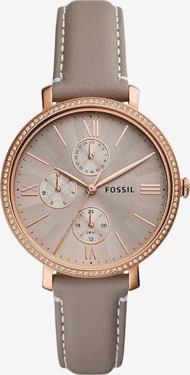 FOSSIL Analoginen kello 'Jacqueline' värissä roseekulta / harmaa, Tuotenäkymä