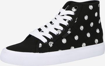 Baskets hautes 'MANUAL' DC Shoes en noir