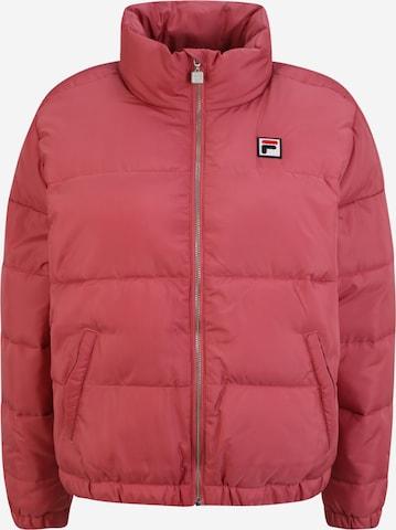 FILA Winter Jacket 'Chaylse' in Pink