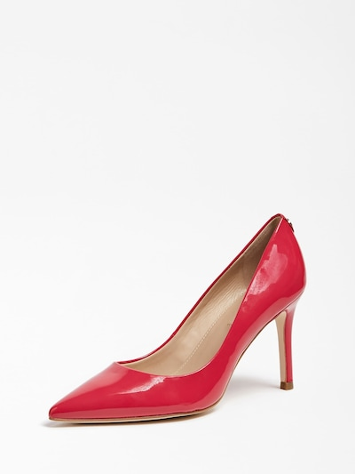 GUESS SPITZER PUMPS DAFNE in rot: Frontalansicht