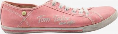 TOM TAILOR Schnürsneaker in 39 in pink / weiß, Produktansicht