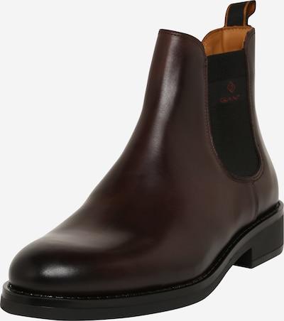 Chelsea batai 'Brookly' iš GANT , spalva - tamsiai ruda, Prekių apžvalga