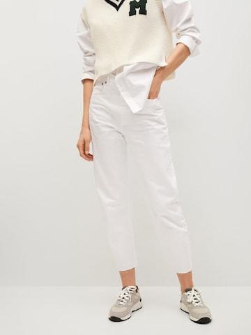 MANGO Дънки в бяло