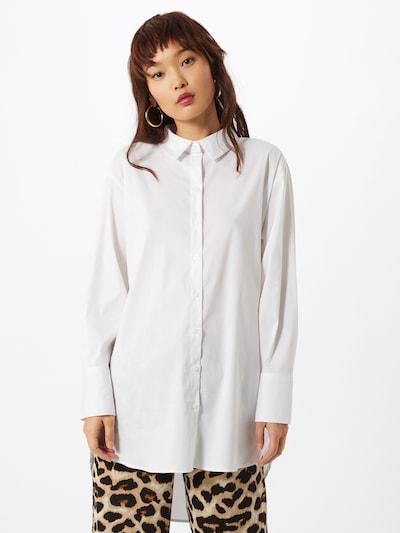 JACQUELINE de YONG Chemisier 'Mio' en blanc, Vue avec modèle