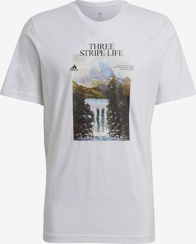 ADIDAS PERFORMANCE T-Shirt 'Mountain' in mischfarben / weiß, Produktansicht