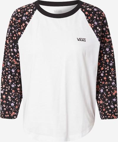 VANS Tričko 'Bed Of Roses' - pastelová fialová / starorůžová / červená / černá / offwhite, Produkt