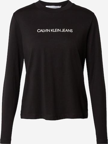 Calvin Klein Jeans Póló - fekete