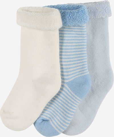 PETIT BATEAU Socken in hellblau / weiß, Produktansicht