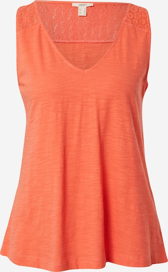 ESPRIT Top in de kleur Donkeroranje, Productweergave