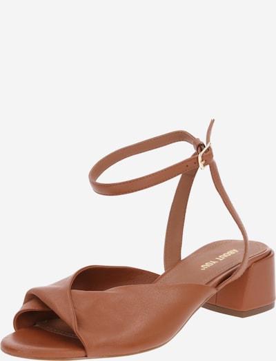 Sandale 'Bianca' ABOUT YOU pe maro coniac, Vizualizare produs