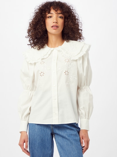 Sofie Schnoor Blouse in White, View model