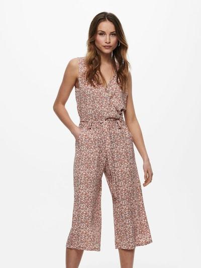 ONLY Jumpsuit in de kleur Pink / Wit, Modelweergave