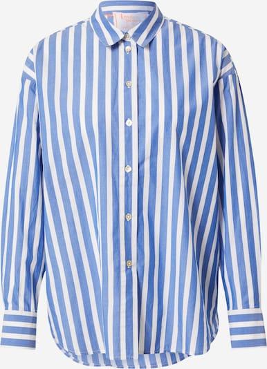 LIEBLINGSSTÜCK Bluse 'Elischa' in royalblau / weiß, Produktansicht