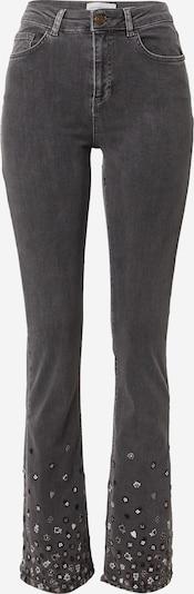 Fabienne Chapot Jeans 'Eva' in de kleur Antraciet / Zwart / Wit, Productweergave