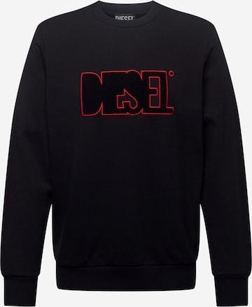 DIESEL Sweatshirt 'GIRK' in Schwarz