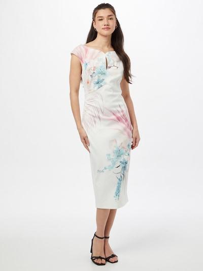 Ted Baker Kleid 'Soozie' in mischfarben / naturweiß, Modelansicht
