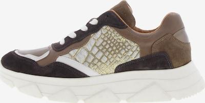 Tango Sneakers 'Kady' in Brown / Dark brown / Gold, Item view