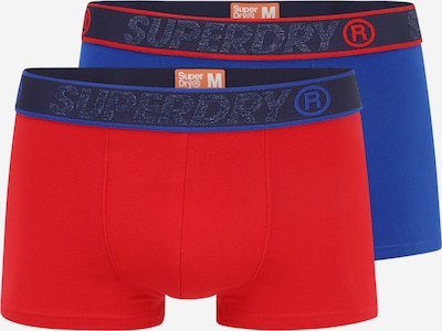 Superdry Boxershorts in blau / rot, Produktansicht