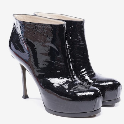 YVES SAINT LAURENT Dress Boots in 39 in Black, Item view