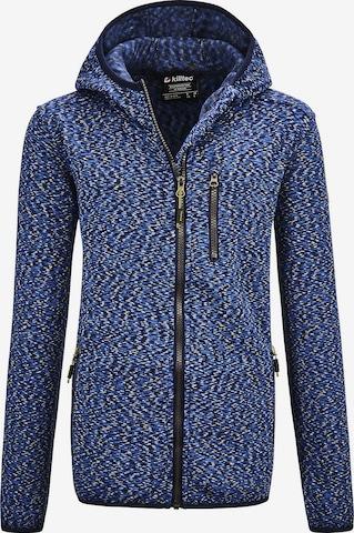 KILLTEC Knit Cardigan in Blue
