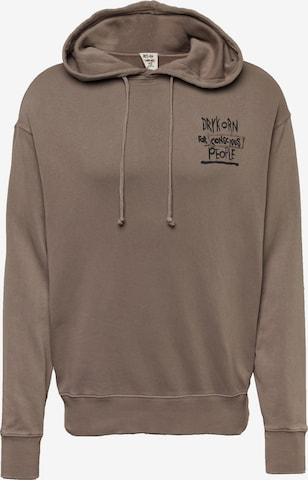 Pull-over 'DRYKORN x ABOUT YOU BRADLEY_CONSCIOUS' DRYKORN en marron