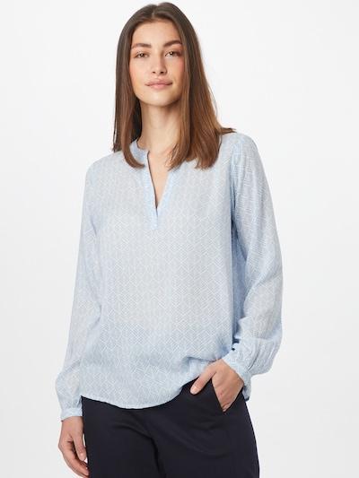 Kaffe Bluse 'Fana Tilly' in hellblau / weiß, Modelansicht