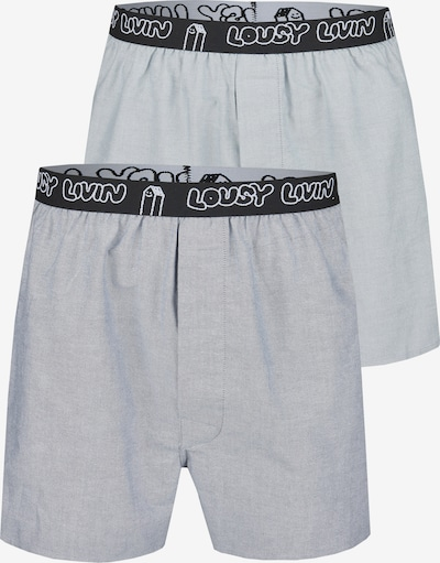 Lousy Livin Boxershorts in blau, Produktansicht
