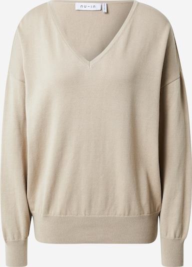NU-IN Sweatshirt in camel, Produktansicht