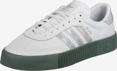 ADIDAS ORIGINALS Nízke tenisky 'Sambarose' - zelená / strieborná / biela, Produkt