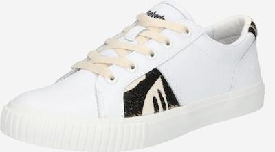 TIMBERLAND Baskets basses en brun foncé / blanc, Vue avec produit