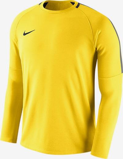NIKE Sportshirt in gelb / grau / schwarz, Produktansicht