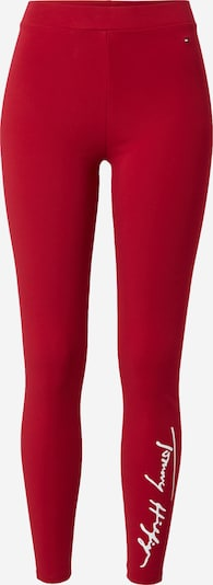 TOMMY HILFIGER Leggings in Red / White, Item view