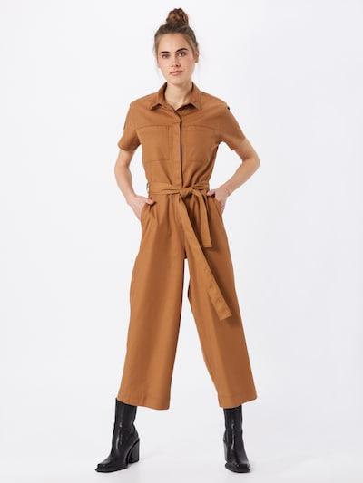 ARMEDANGELS Jumpsuit 'Roslindaa' in karamell, Modelansicht