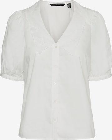 Vero Moda Petite Bluzka 'Ally' w kolorze biały